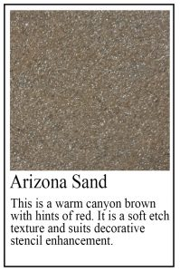 Arizona Sand sample