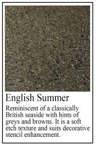 English Summer sample
