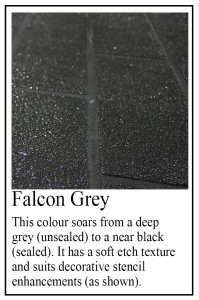 Falcon Grey sample