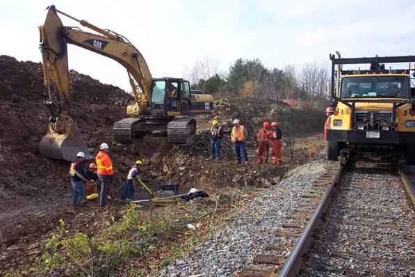 CP Rail Various Works